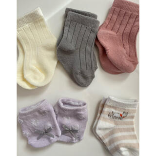 プティマイン(petit main)の新生児用 靴下セット プティマイン 西松屋 値下げ(靴下/タイツ)