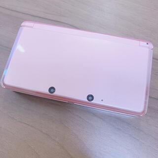 ニンテンドー3DS(ニンテンドー3DS)のNintendo 3DS ミスティピンク ★とびだせどうぶつの森ソフト付★(携帯用ゲームソフト)