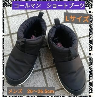コールマン(Coleman)のコールマン ショートブーツ ブラック メンズ Lサイズ(ブーツ)