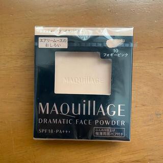 マキアージュ(MAQuillAGE)のマキアージュ ドラマティックフェイスパウダー 10 フォギーピンク レフィル8g(フェイスパウダー)