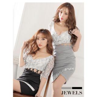 ジュエルズ(JEWELS)の新品* Jewels キャバ ワンピ 袖(ナイトドレス)