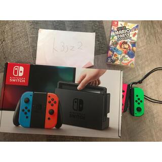 ニンテンドースイッチ(Nintendo Switch)の任天堂 switch 本体 コントローラ マリオパーティー(家庭用ゲーム機本体)