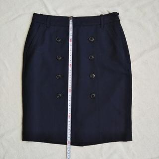 トミーヒルフィガー(TOMMY HILFIGER)のBASIC コクーン スカート 11号 Mサイズ(ミニスカート)