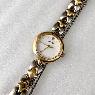 オリエント(ORIENT)のORIENT オリエント  Selene レディースクォーツ腕時計 稼動品(腕時計)