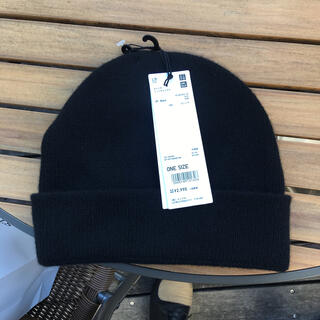 ユニクロ +J ニット帽 ジルサンダー(ニット帽/ビーニー)