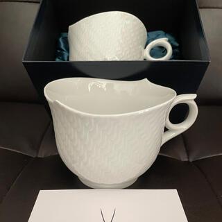 マイセン(MEISSEN)のマイセン 波の戯れ マグカップ 2個 中古(食器)