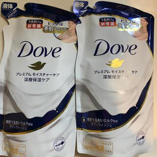 ユニリーバ(Unilever)の「ダヴ ボディウォッシュ プレミアム モイスチャーケア つめかえ用(360g)」(ボディソープ/石鹸)