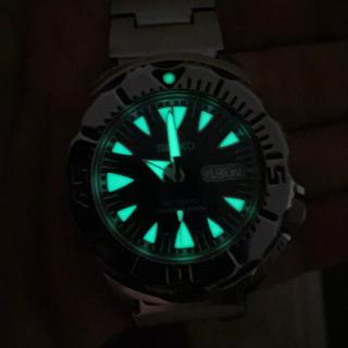 セイコー(SEIKO)のセイコー自動巻ダイバーズウォッチ モンスター(腕時計(アナログ))