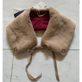 リリーブラウン(Lily Brown)のエコファービジューつけ襟(つけ襟)