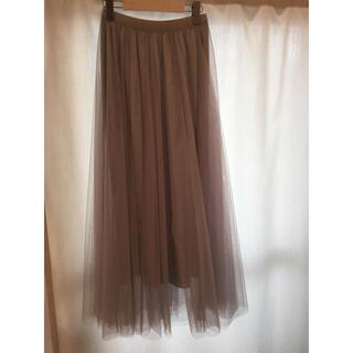 ザラ(ZARA)の発送前セール。ロングチュールスカート(ロングスカート)