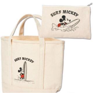 ミッキーマウス(ミッキーマウス)のサーフミッキー トート&ポーチセット(トートバッグ)