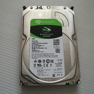 アイオーデータ(IODATA)の3.5インチHDD 4TB SEAGATE ST4000DM004(PCパーツ)