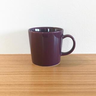 イッタラ(iittala)の【廃盤】イッタラ ティーマ ディープライラック マグカップ(食器)