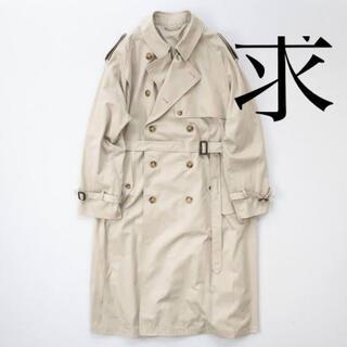 サンシー(SUNSEA)のstein double shade trench coat (トレンチコート)