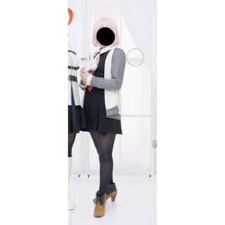 FGO マシュ コスプレ衣装(ウィッグ、靴込み)(衣装一式)