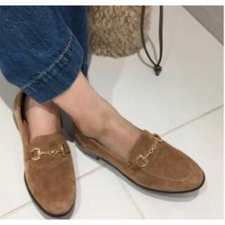 イエナスローブ(IENA SLOBE)のスローブイエナ  ビットローファー 24cm 完売品 キャメル 美品(ローファー/革靴)