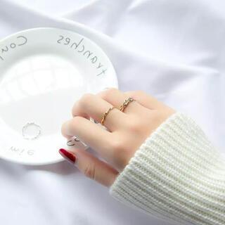 ミラオーウェン(Mila Owen)のsilver925 ツイストリング シルバー(リング(指輪))