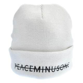 ピースマイナスワン(PEACEMINUSONE)のpeaceminusone ピースマイナスワン ニットキャップ(ニット帽/ビーニー)