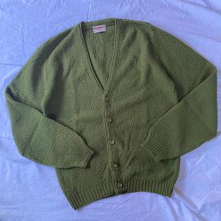 マンシングウェア(Munsingwear)の70s munsingwear アクリル カーディガン 古着(カーディガン)
