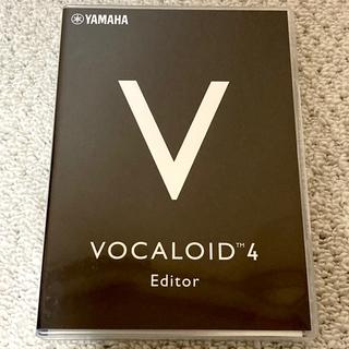 ヤマハ(ヤマハ)のVOCALOID4 Editor(DAWソフトウェア)