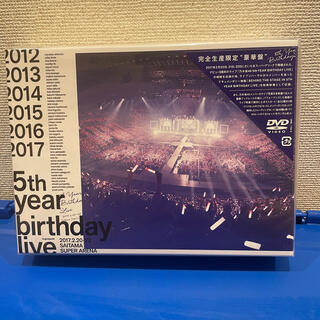 ノギザカフォーティーシックス(乃木坂46)の乃木坂46/5th YEAR BIRTHDAY LIVE ポスター付き(アイドル)