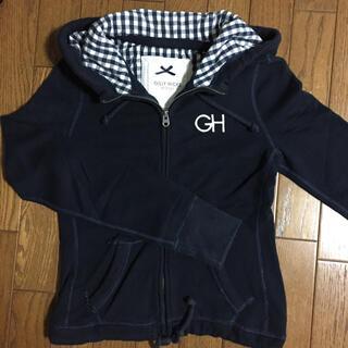 ギリーヒックス(Gilly Hicks)の最終値下げ☆【GILLY HICKS】パーカー S 紺(パーカー)