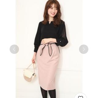 リランドチュール(Rirandture)のリラ♡パイピングスカート(ひざ丈スカート)
