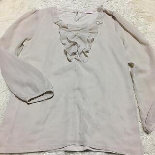フェリシモ(FELISSIMO)のふりふり 可愛い Tシャツ(シャツ/ブラウス(長袖/七分))