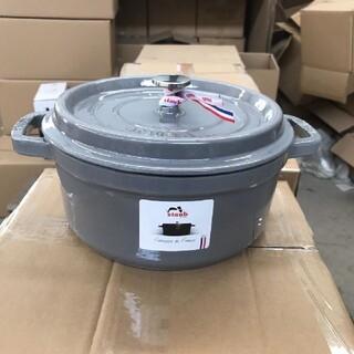 STAUB - 24cm 鋳鉄STAUBエナメル鍋