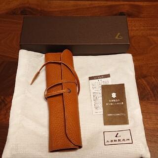 ツチヤカバンセイゾウジョ(土屋鞄製造所)のオイルヌメロールペンケース ブラウン(ペンケース/筆箱)
