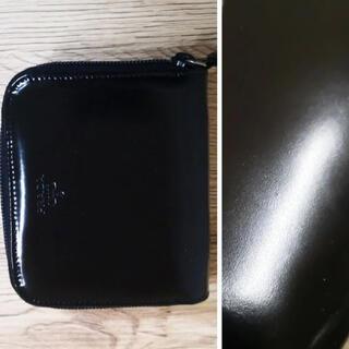 プラダ(PRADA)のプラダ レザー コンパクト 財布 【鑑定済】(折り財布)