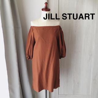 JILLSTUART - ジルスチュアート * オフショルワンピ