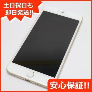 アイフォーン(iPhone)の美品 SOFTBANK iPhone6 PLUS 64GB ゴールド (スマートフォン本体)