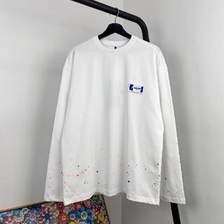 メゾンキツネ(MAISON KITSUNE')のADERERROR  ロンT 白(Tシャツ/カットソー(七分/長袖))