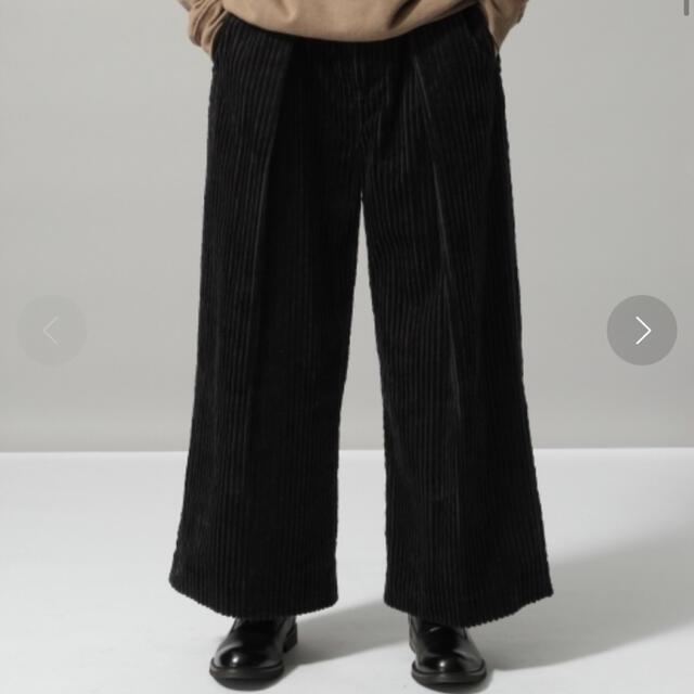 HARE(ハレ)のHARE コーデュロイ ワイドパンツ メンズのパンツ(スラックス)の商品写真