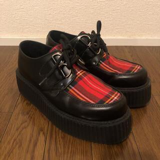 アンダーグラウンド(UNDERGROUND)のUNDER GROUND 美品 size5(ローファー/革靴)