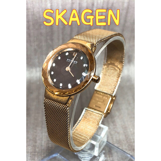 スカーゲン(SKAGEN)のスカーゲン SKAGEN レディース 腕時計 時計  スワロフスキー クォーツ(腕時計)