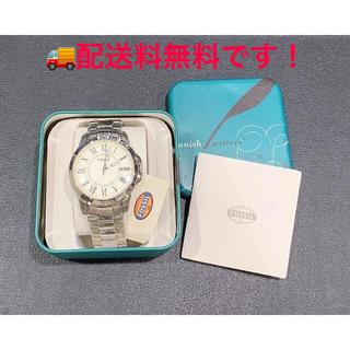 フォッシル(FOSSIL)の*新品 フォッシル FOSSIL 腕時計 Grant ステンレススティール(腕時計(アナログ))