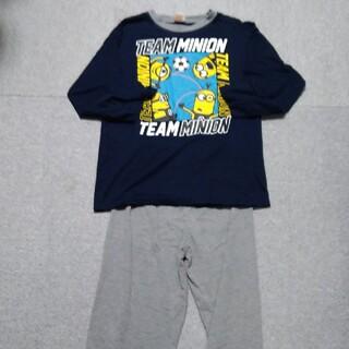 ミニオン(ミニオン)のミニオン ジュニア 男児 パジャマ 3点セット 150(パジャマ)