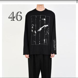 ラッドミュージシャン(LAD MUSICIAN)のLONG SLEEVE BIG T-SHIRT 46サイズ 新品(Tシャツ/カットソー(七分/長袖))