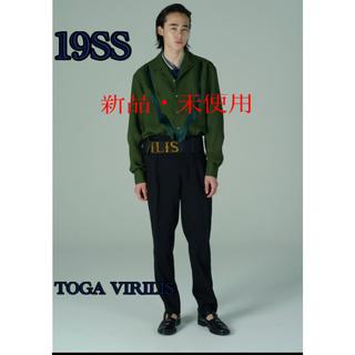 トーガ(TOGA)の【新品・未使用】TOGA VIRILIS サイドベルトスラックス(スラックス)