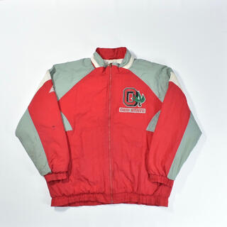 リーボック(Reebok)の90s OHIO STATE オハイオ州 中綿ジャケット 刺繍 ブルゾン(ブルゾン)