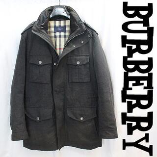 バーバリー(BURBERRY)の三陽商会バーバリー取外可能インナーダウンジャケット付ミリタリージャケットコート(ダウンジャケット)