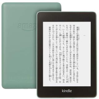 アンドロイド(ANDROID)のKindle Paperwhite 防水機能搭載 wifi 32GB セージ(電子ブックリーダー)