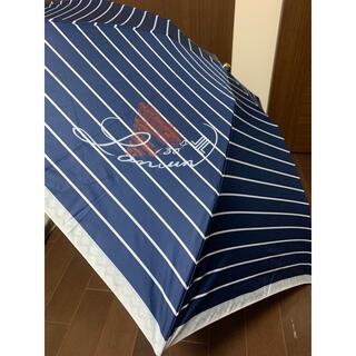 ランバンオンブルー(LANVIN en Bleu)の新品未使用ランバンオンブルー 折り畳み傘(傘)