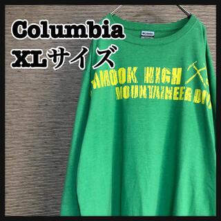 Columbia - 【コロンビア】ロンT ビッグプリント バックプリント ビッグシルエット 4