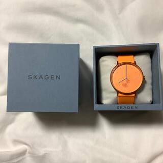 スカーゲン(SKAGEN)の【美品】Skagen Aaren 41mm シリコンウォッチ(腕時計(アナログ))