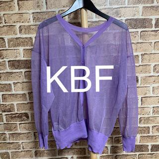 ケービーエフ(KBF)のKBF カーディガン 品番14(カーディガン)