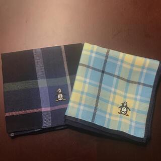 マンシングウェア(Munsingwear)のマンシングウェア ハンカチ 二枚セット(ハンカチ/ポケットチーフ)