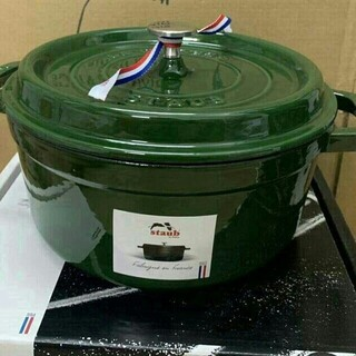 STAUB - 22 鋳鉄STAUB  エナメル鍋